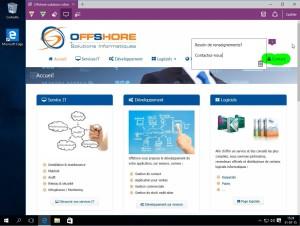 Microsoft Edge note et partage