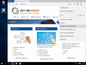Microsoft Edge gestion des favoris