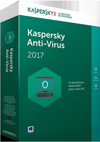 Kaspersky Anti Virus 2017 - protection PC