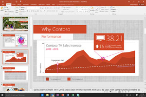 Offshore, logiciel microsoft: Office 2016 - power point