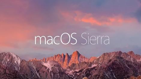 macOS Sierra est maintenant disponible sous forme de mise à jour gratuite